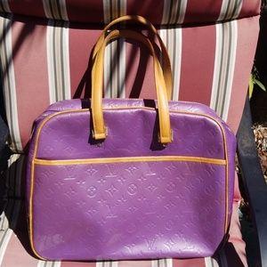 Louise  Vuitton Vernis Sutton bag